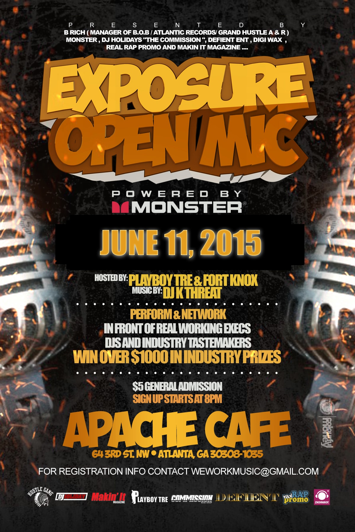 Exposure Open Mic