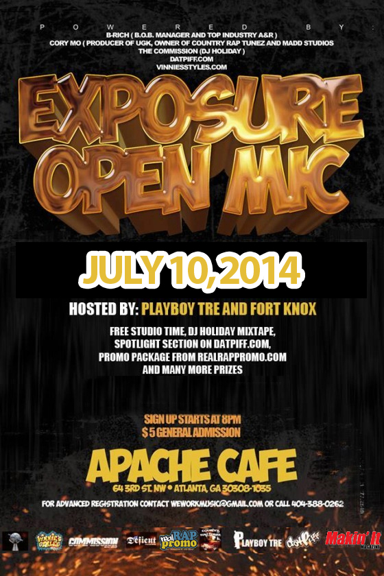 ExposureFlyer July