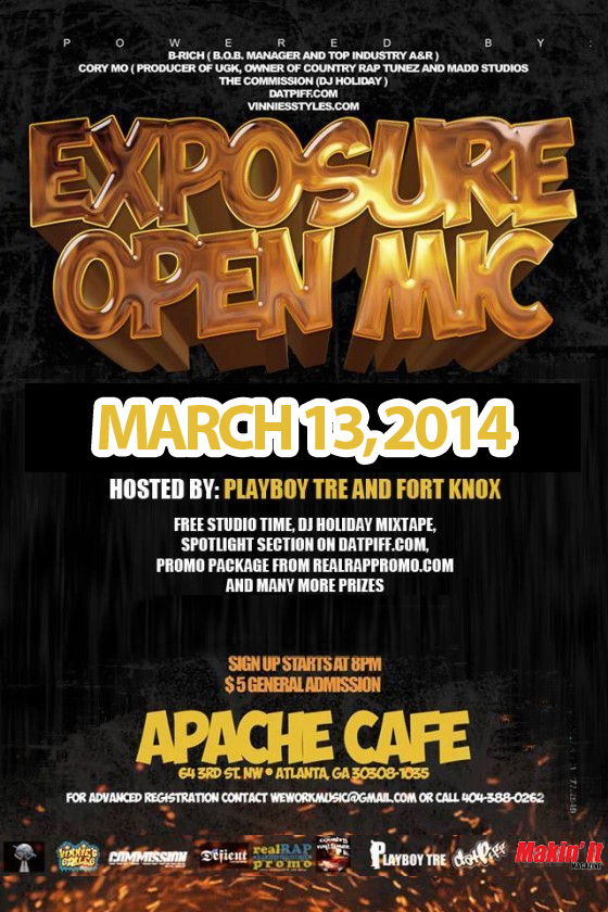 ExposureFlyer March13