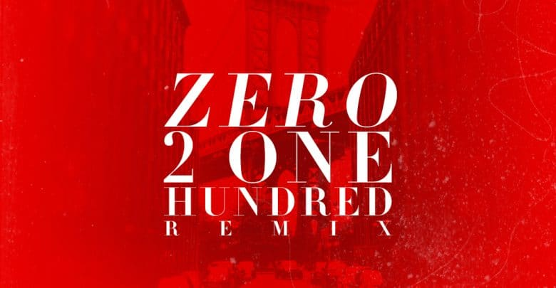 0 To 100 Remix cover