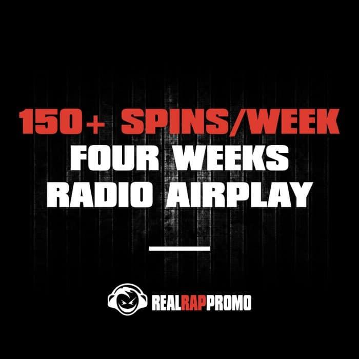 150 Spins Per Week Radio Airplay