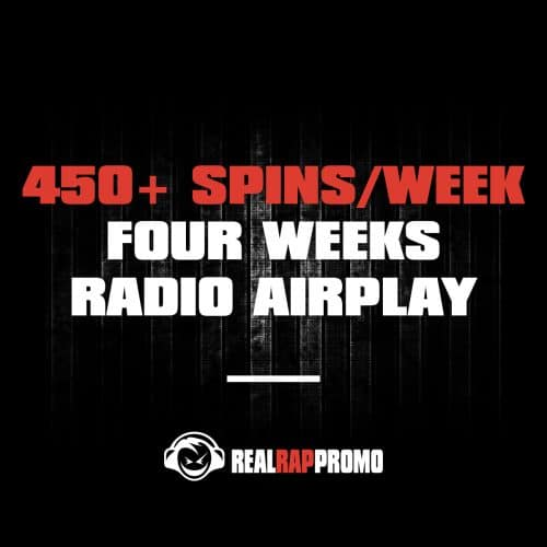 450 Spins Per Week Radio Airplay