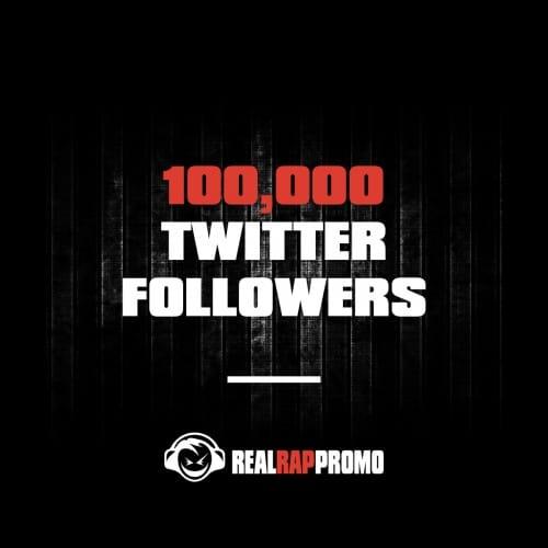 100000 Twitter Followers