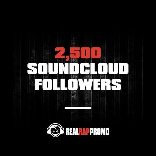 2500 SoundCloud Followers
