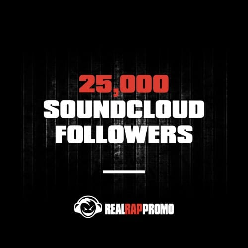 25000 SoundCloud Followers