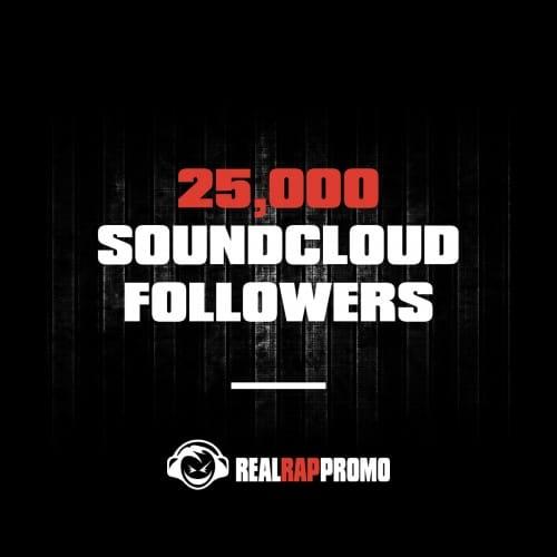 25000 SoundCloud Followers