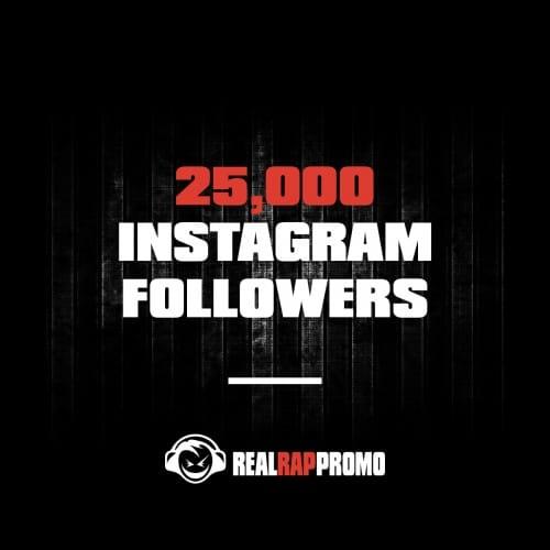 25000 Instagram Followers