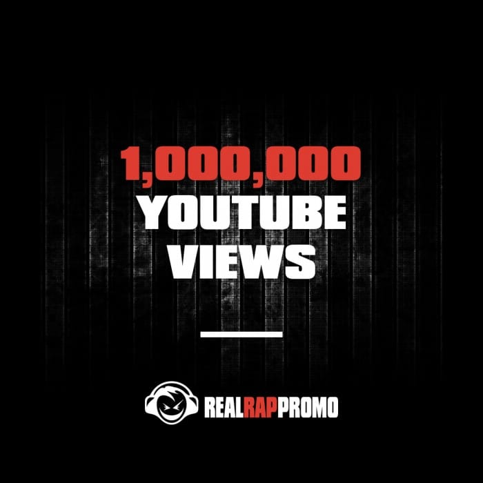 1000000 YouTube Views