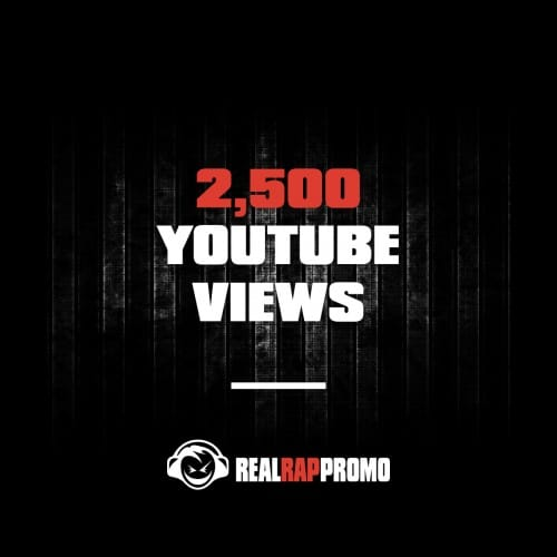 2500 YouTube Views