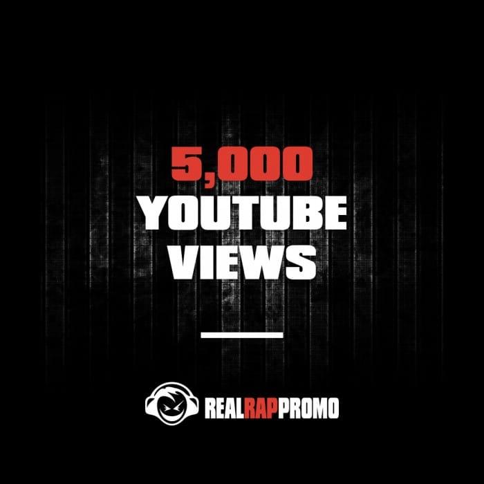 5000 YouTube Views