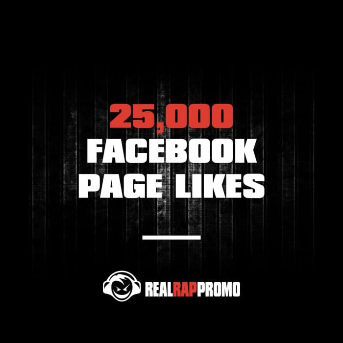 25000 Facebook Page Likes