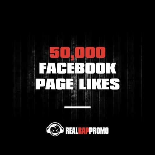 50000 Facebook Page Likes