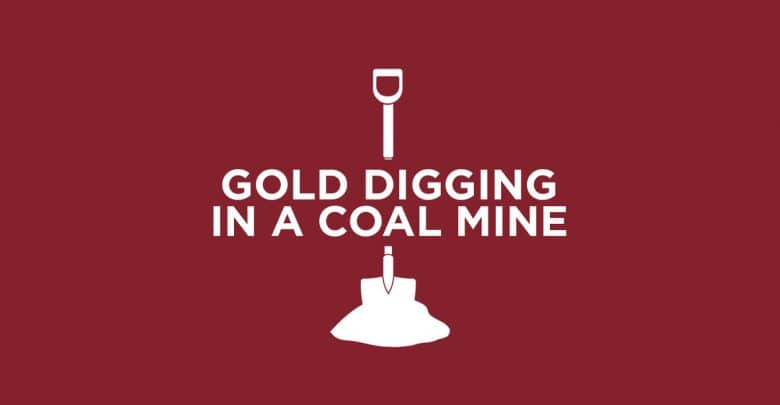 jacey j - Gold Digging In A Coal Mine