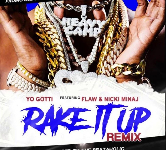 FLAW feat. Nicki Minaj - Rake It Up (Remix)