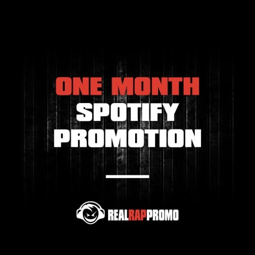 One Month Spotify Promotion