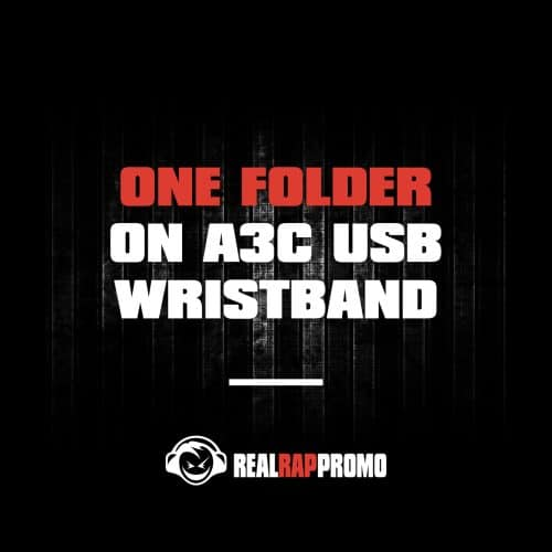One Folder On A3C USB Wristband