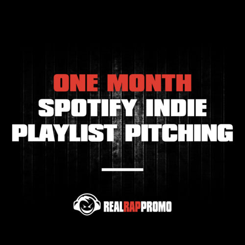 One Month Spotify Indie Playlist Pitching