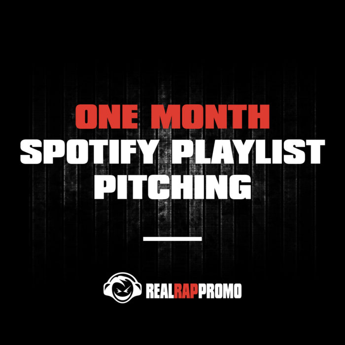 One Month Spotify Playlist Pitching