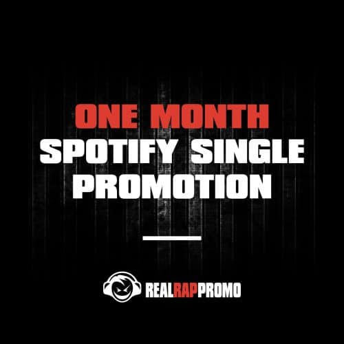 One Month Spotify Single Promotion