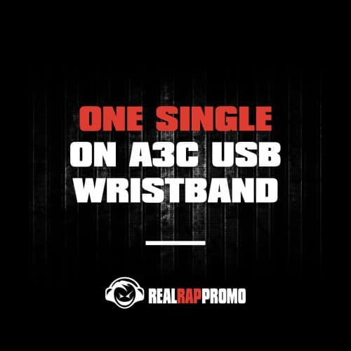 One Single On A3C USB Wristband
