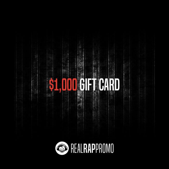 1000 Dollar Gift Card