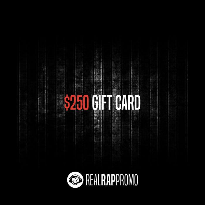 250 Dollar Gift Card