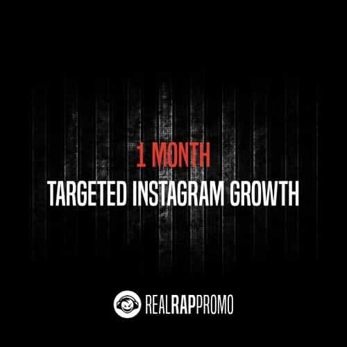 1 Month Targeted Instagram Growth