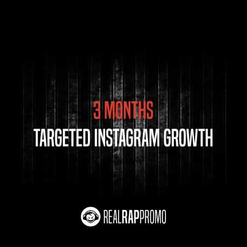 3 Months Targeted Instagram Growth